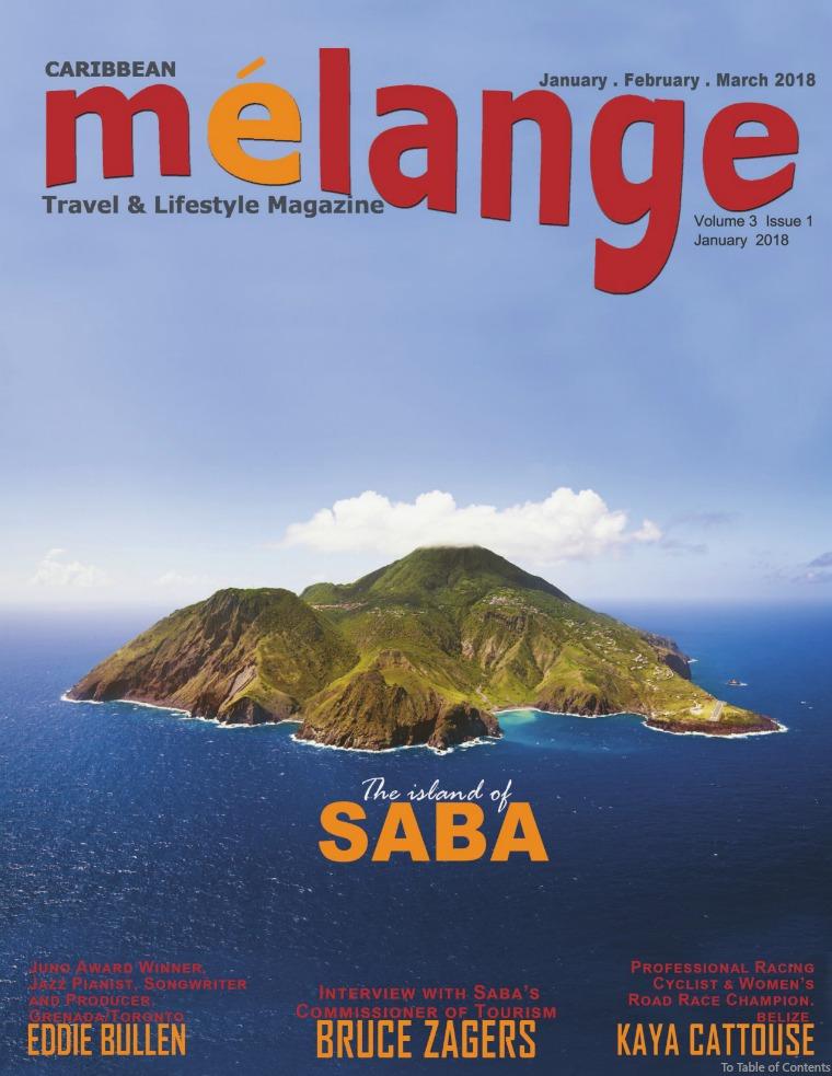 Mélange Travel & Lifestyle Magazine January 2018