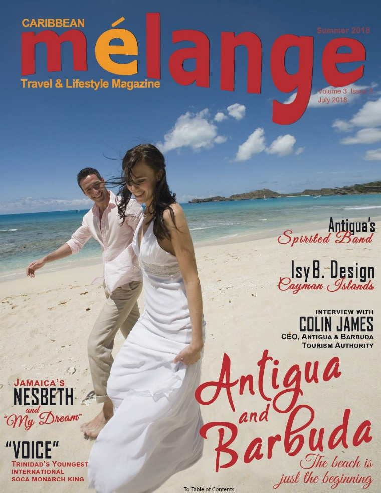 Mélange Travel & Lifestyle Magazine July 2018