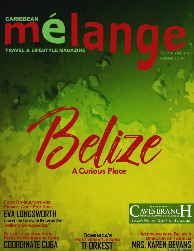 Mélange Travel & Lifestyle Magazine October 2018