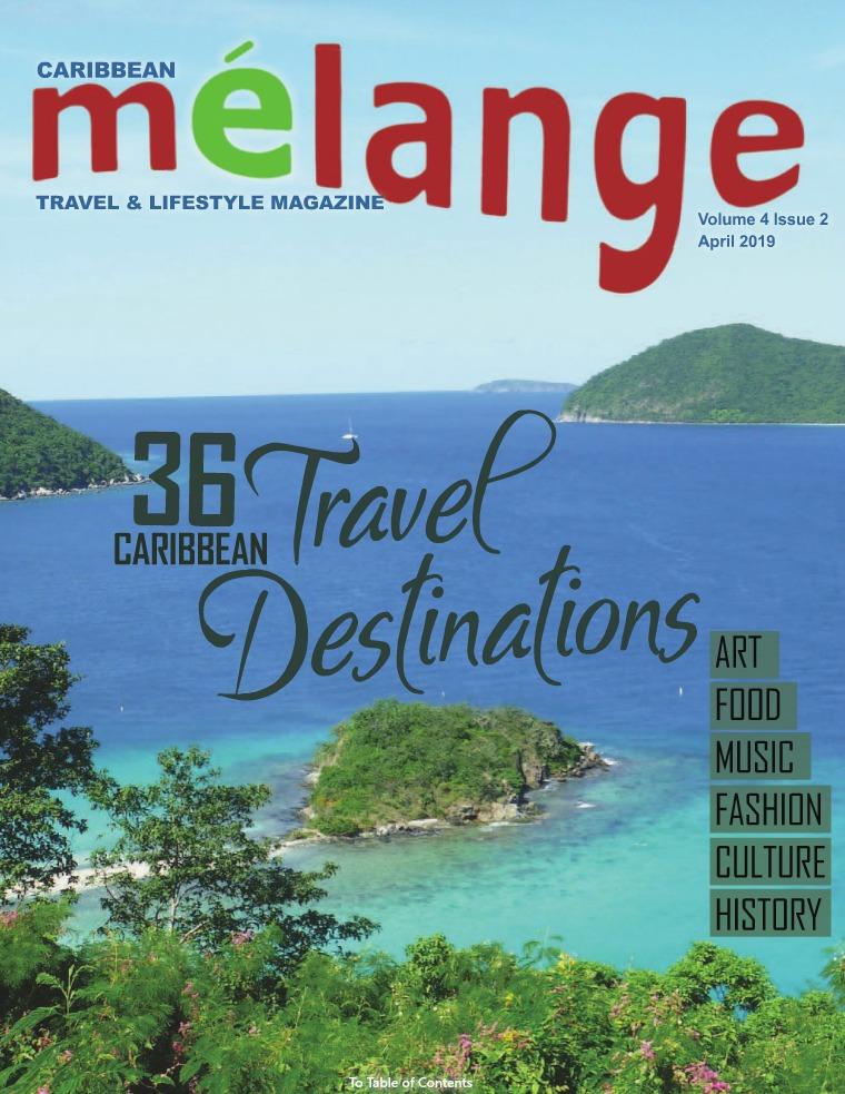 Mélange Travel & Lifestyle Magazine APRIL 2019
