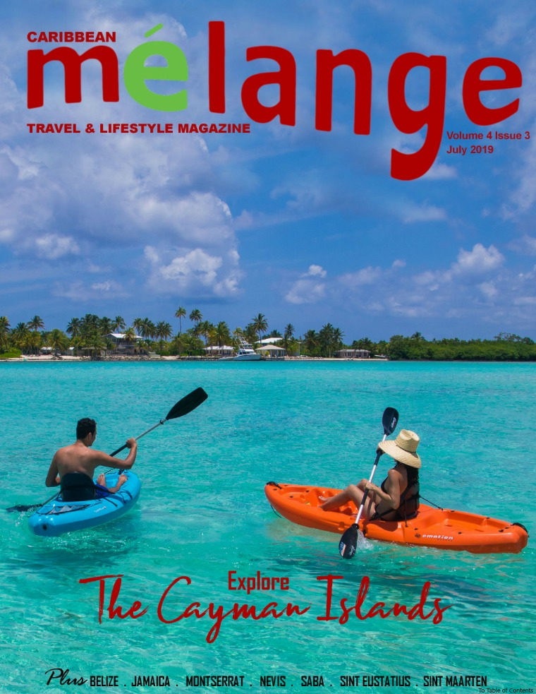 Mélange Travel & Lifestyle Magazine July 2019