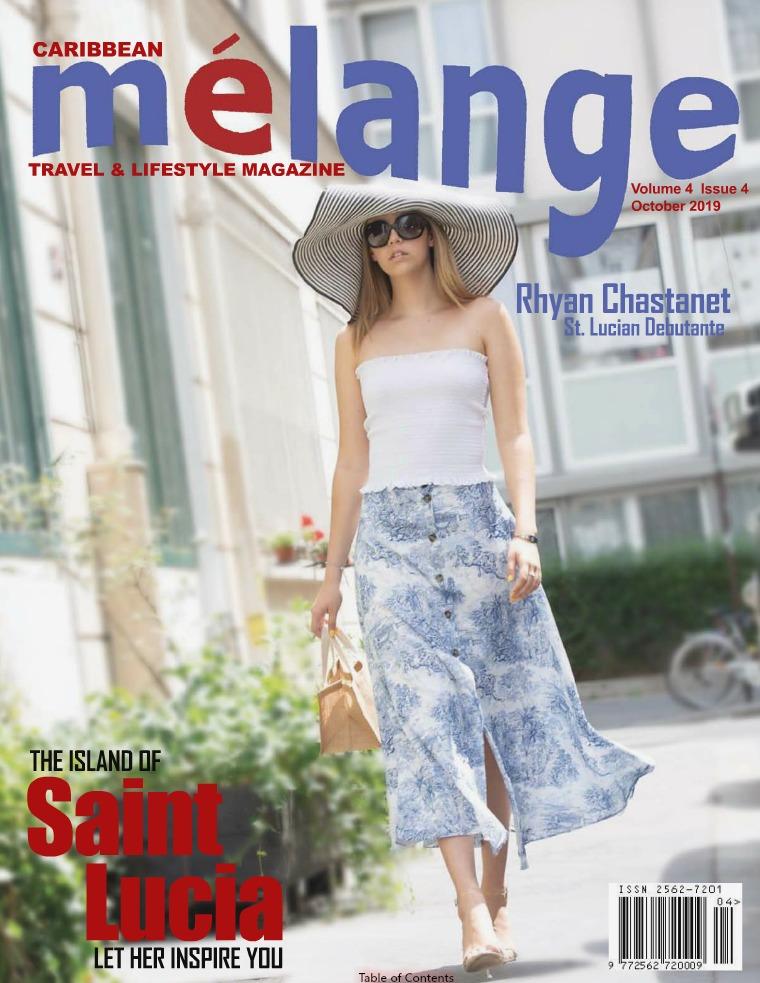 Mélange Travel & Lifestyle Magazine October 2019