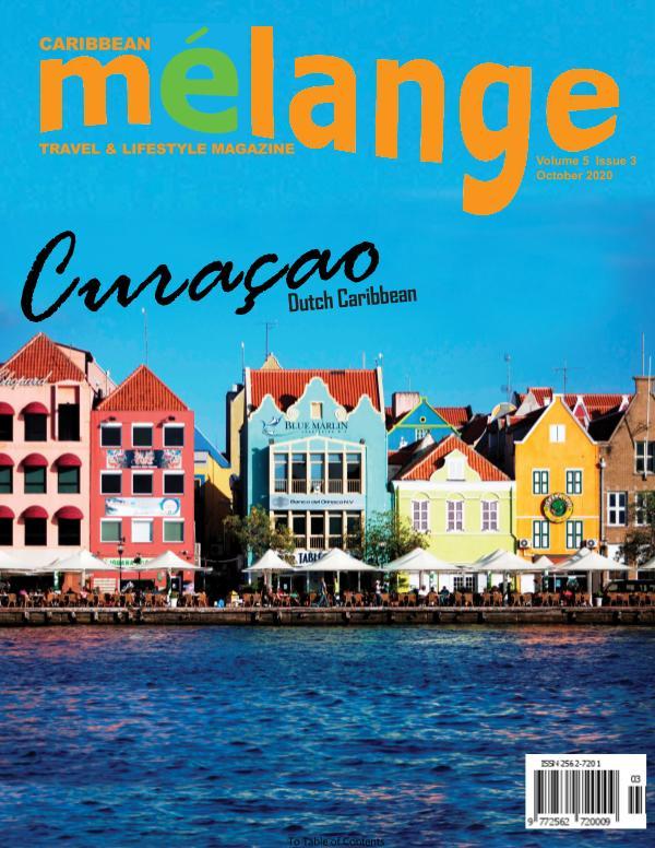 Mélange Travel & Lifestyle Magazine October 2020