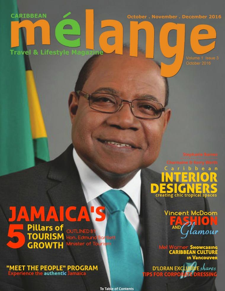 Mélange Travel & Lifestyle Magazine October 2016