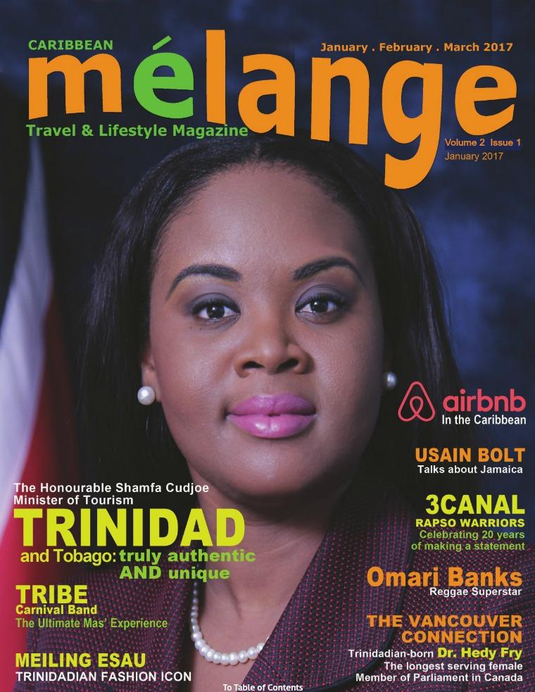 Mélange Travel & Lifestyle Magazine January 2017