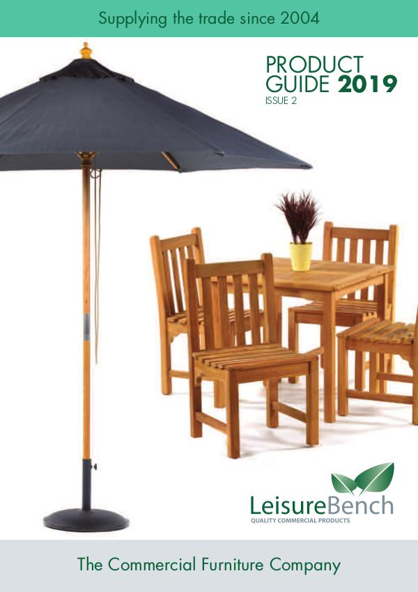 Leisurebench Product Guide leisurebench_brochure_2019