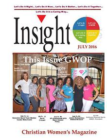Insight Christian Women's Magazine July 2016