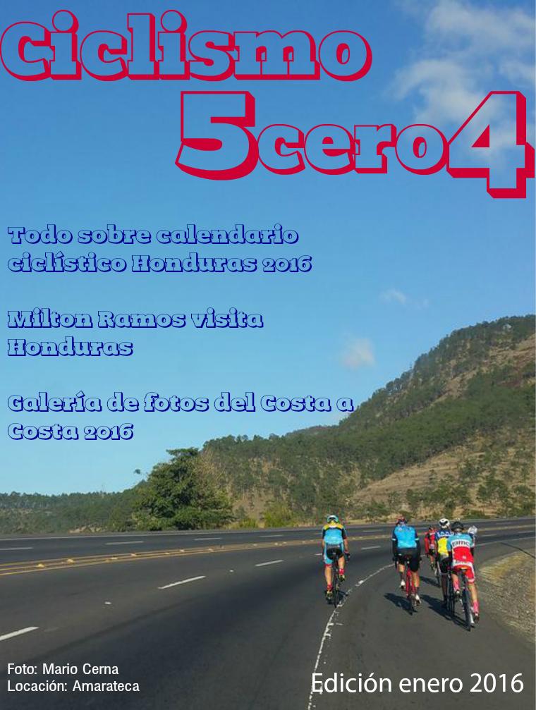 Ciclismo 5cero4 Enero 2016