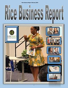 Rice Business Report February 2019 zzzzzzxxxxxx