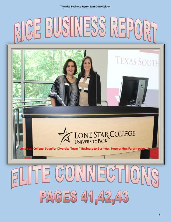 Rice Business Report June 2019 Edition Rice Busines Report June 2019 Edition3x