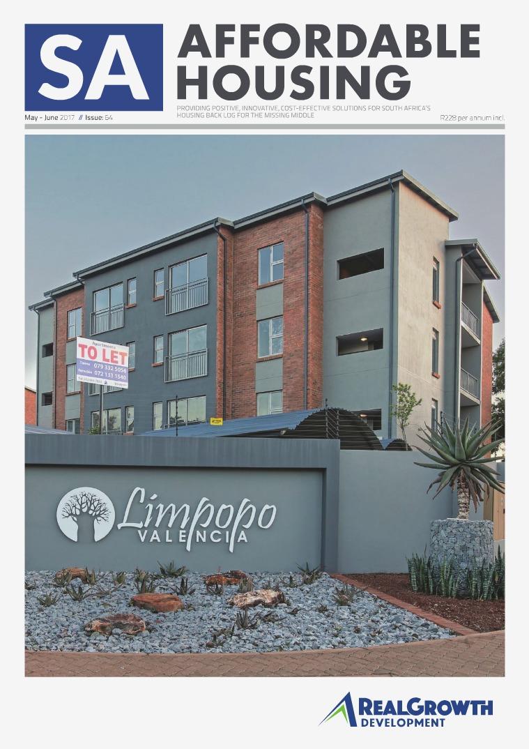 SA Affordable Housing May / June 2017 // Issue: 64