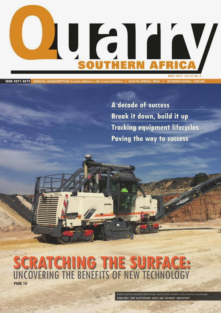 Quarry Southern Africa May 2017
