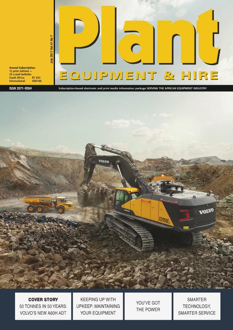 Plant Equipment and Hire July 2017
