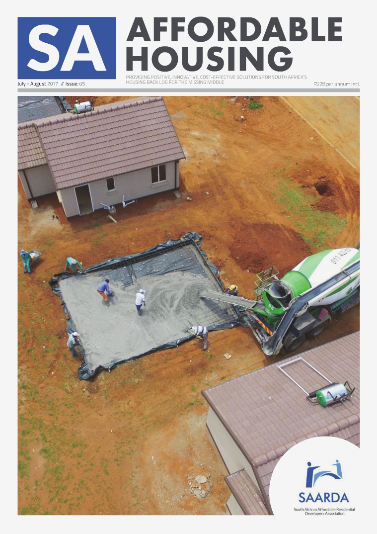 SA Affordable Housing July / August 2017 // Issue: 65