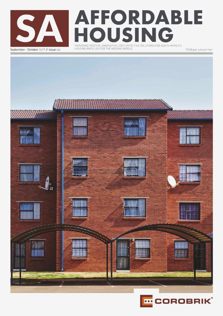 SA Affordable Housing September / October 2017 // Issue: 66