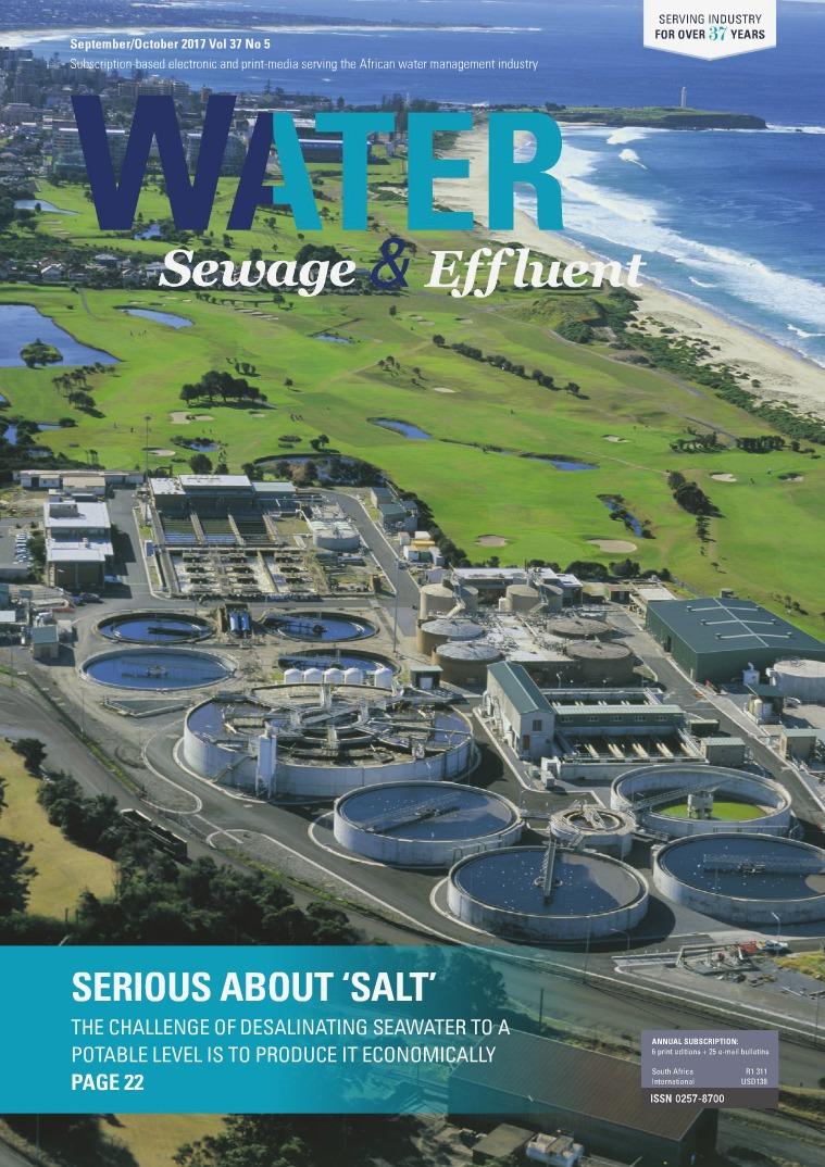 Water, Sewage & Effluent September-October 2017