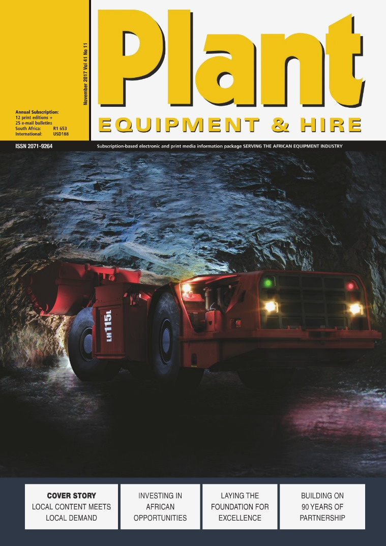 Plant Equipment and Hire November 2017