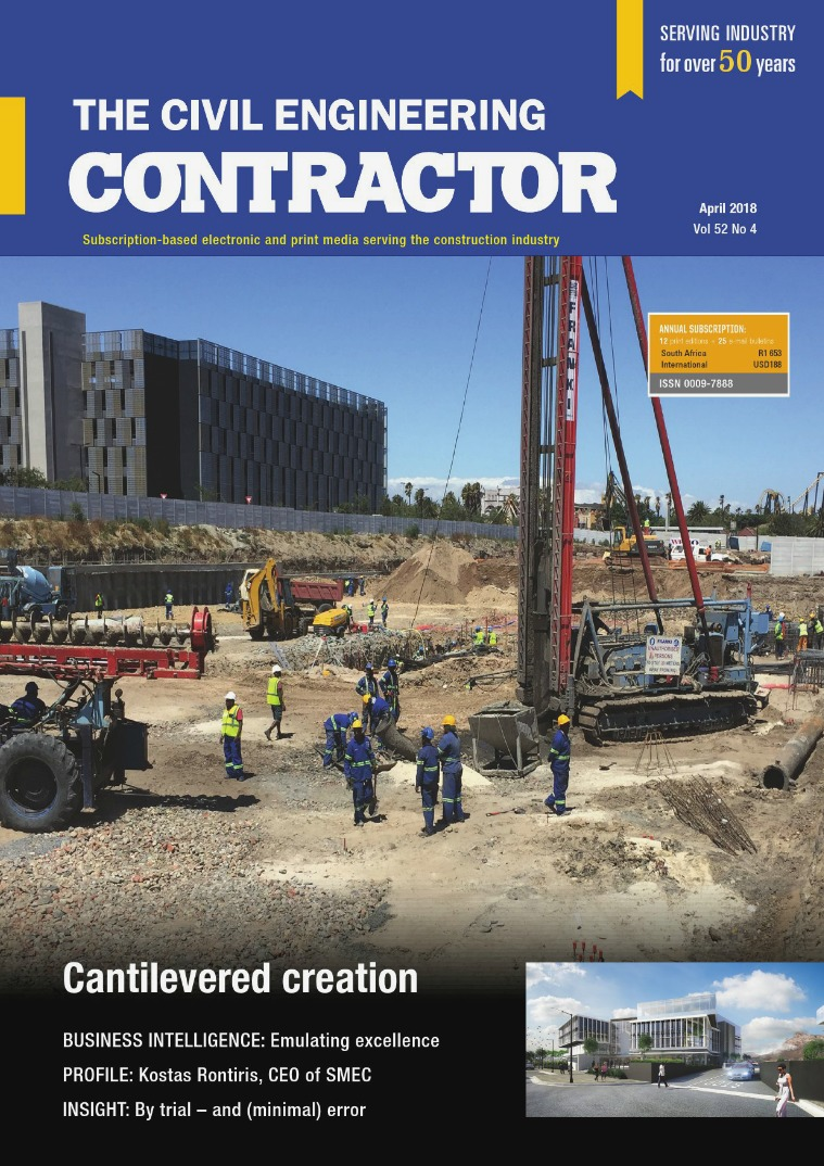 The Civil Engineering Contractor April 2018
