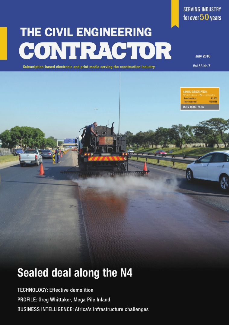 The Civil Engineering Contractor July 2018
