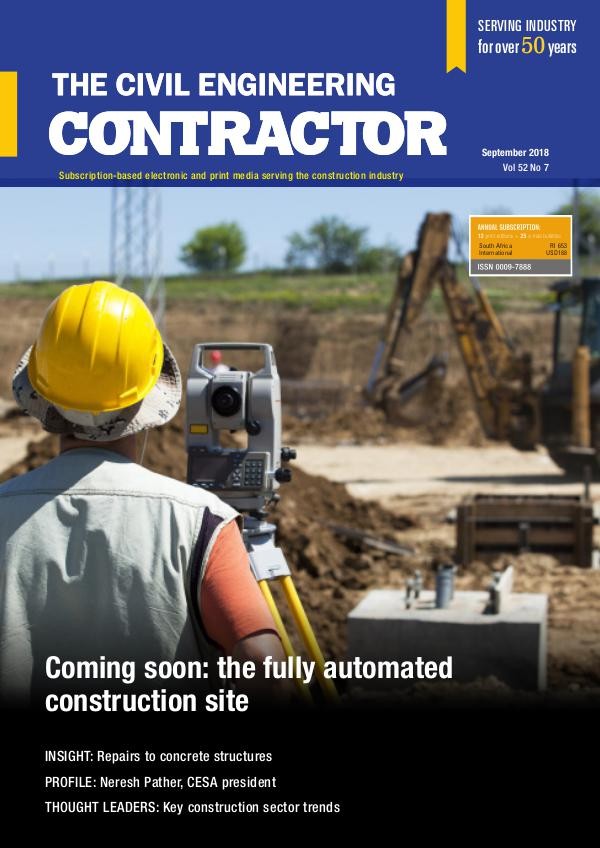 The Civil Engineering Contractor September 2018