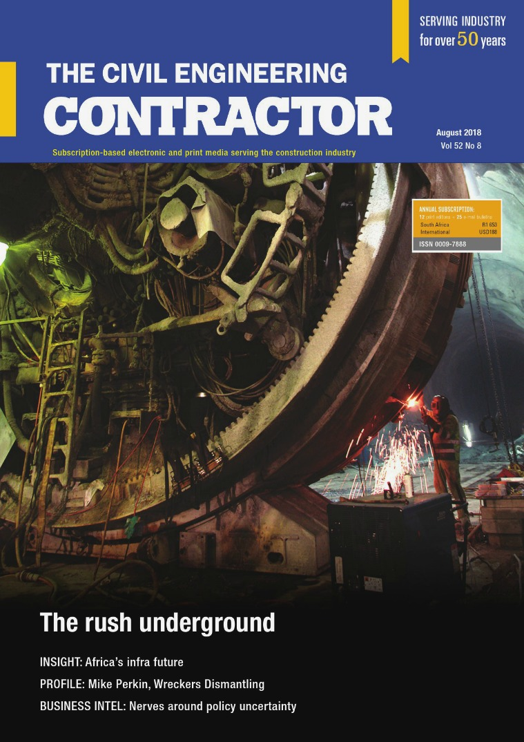 The Civil Engineering Contractor August 2018