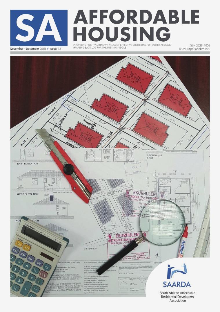 SA Affordable Housing November - December 2018 //  Issue: 73