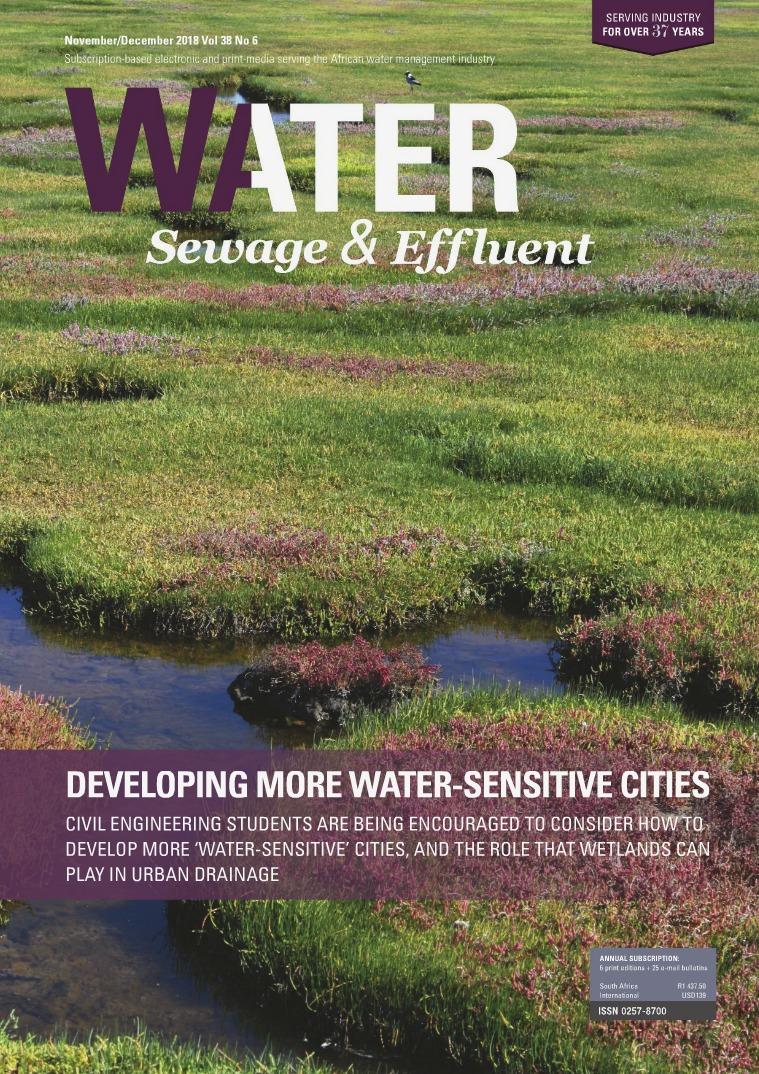 Water, Sewage & Effluent November December 2018