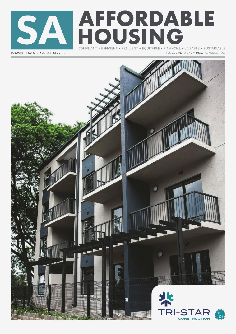 SA Affordable Housing January - February 2019 // Issue: 74