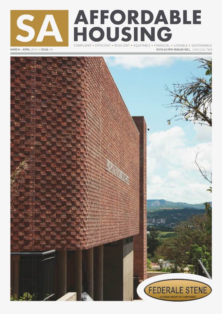 SA Affordable Housing March - April 2019 // Issue: 75
