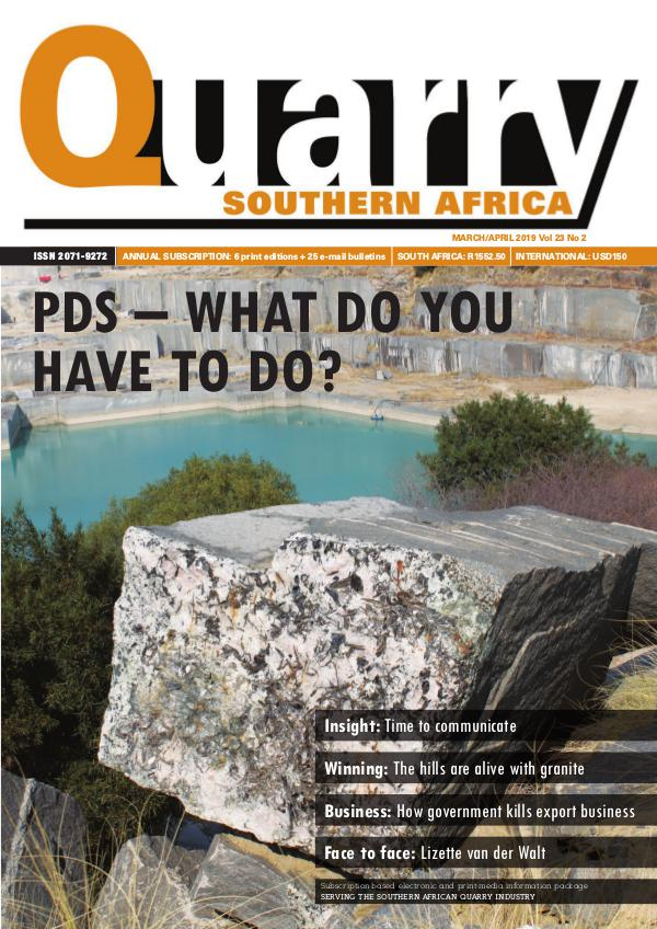 Quarry Southern Africa March 2019