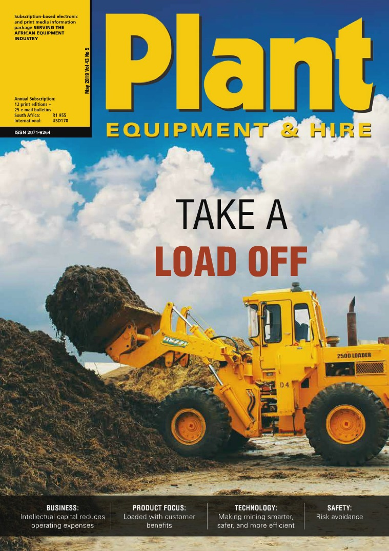 Plant Equipment and Hire May 2019