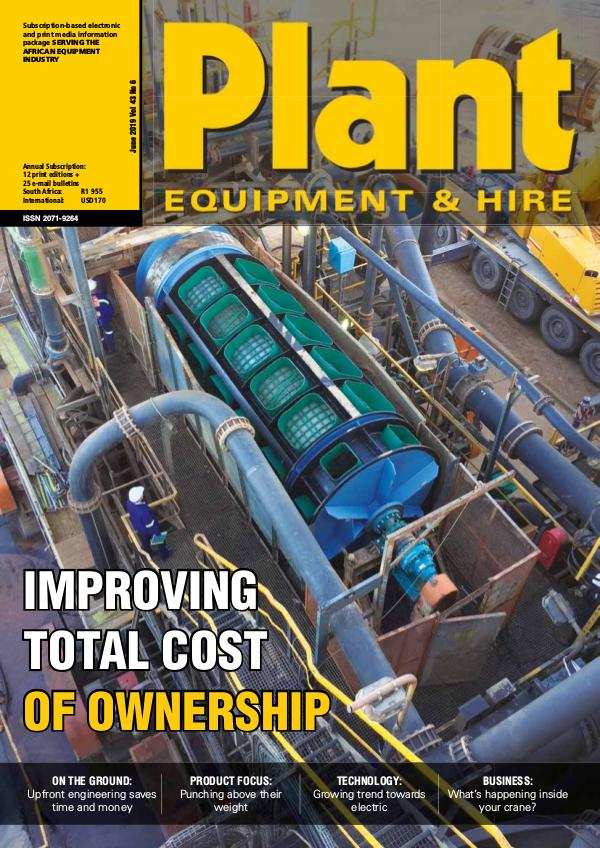 Plant Equipment and Hire June 2019