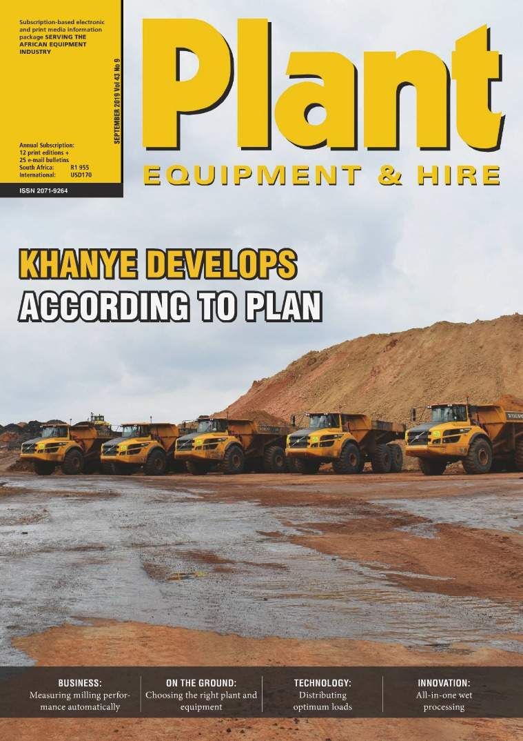 Plant Equipment and Hire September 2019