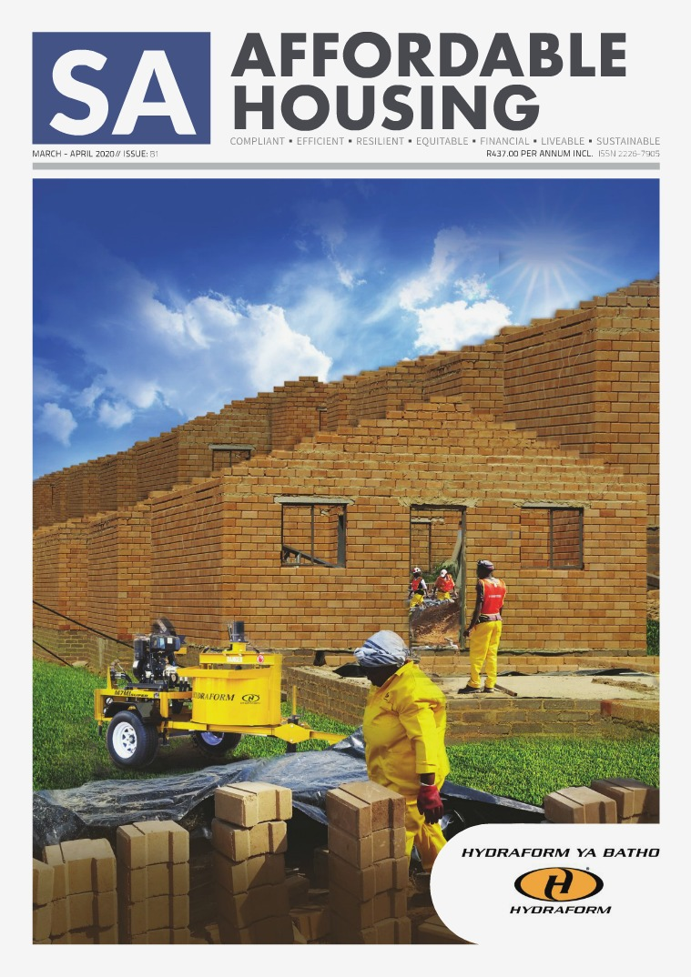 SA Affordable Housing March - April 2020 // ISSUE: 81