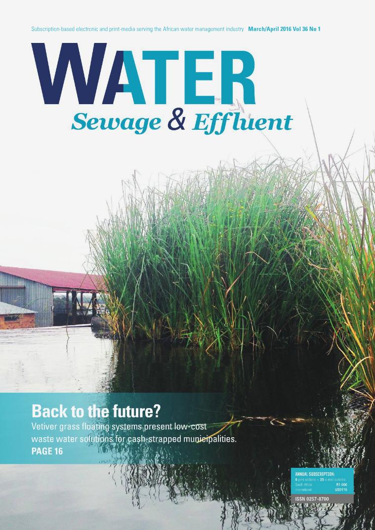 Water, Sewage & Effluent Mar Vol 30 No 2