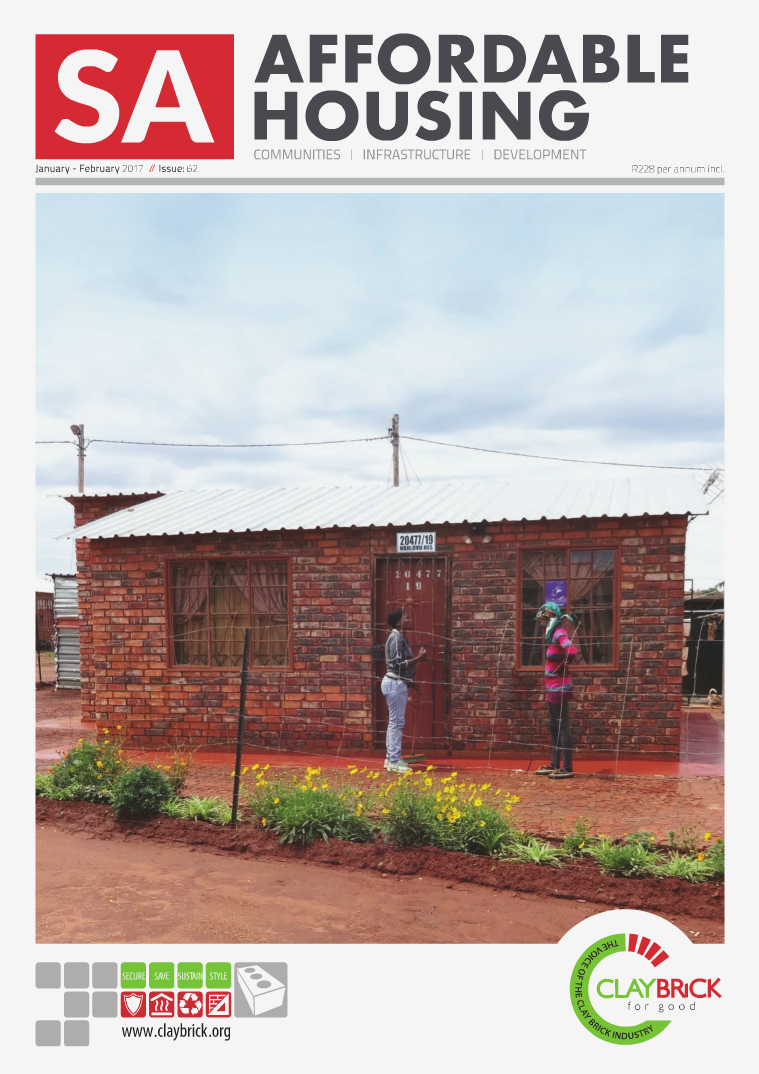 SA Affordable Housing January / February 2017 // Issue: 62