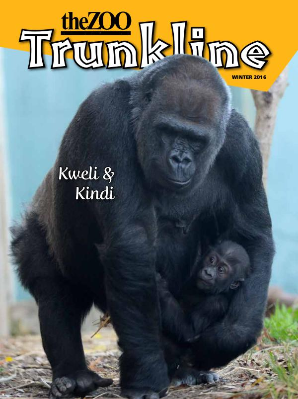 Trunkline Magazine (Louisville Zoo) Trunkline Magazine: December 2016