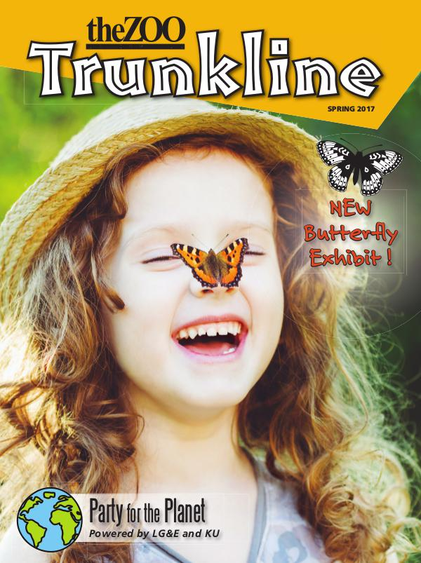 Trunkline Magazine (Louisville Zoo) Trunkline Magazine: March 2017