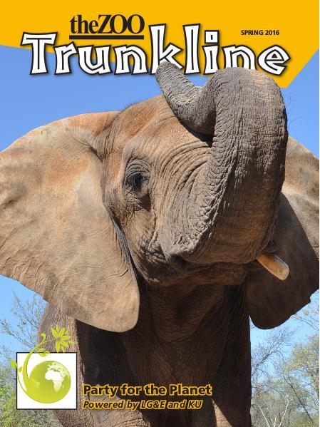 Trunkline Magazine (Louisville Zoo) Trunkline Magazine: March 2016