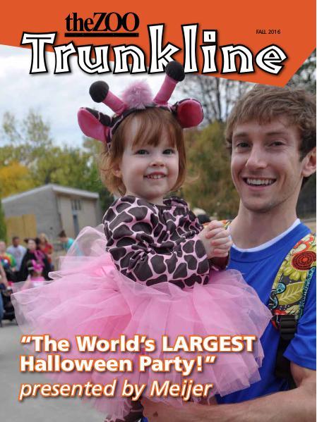 Trunkline Magazine (Louisville Zoo) Trunkline Magazine: September 2016
