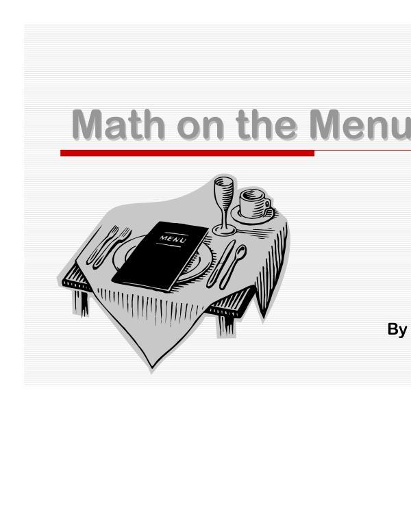 A chef describes the importance of knowing fractions Bir şefin açıklamaları