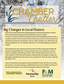 Tomah Chamber & Visitors Center Newsletter