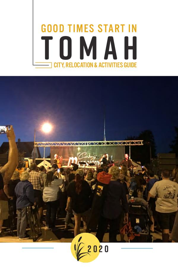 Tomah Activities Guide 2020 127768 Tomah Chamber_web