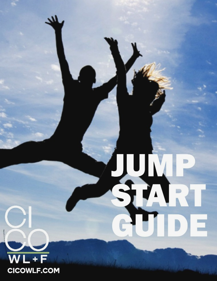JUMP START GUIDE - CICO Weight Loss + Fitness Get Started Today! There's no catch!