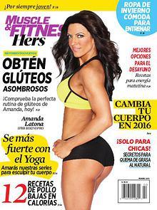 Muscle & Fitness Hers En Español -  Febrero 2016