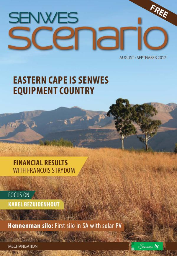 Senwes Scenario August / September 2017