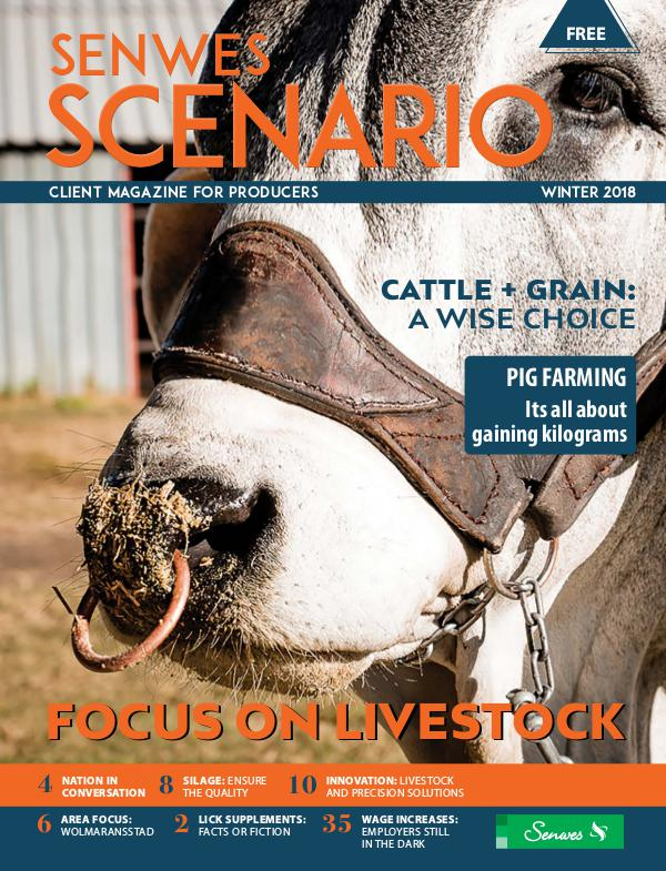 Senwes Scenario June/July 2018