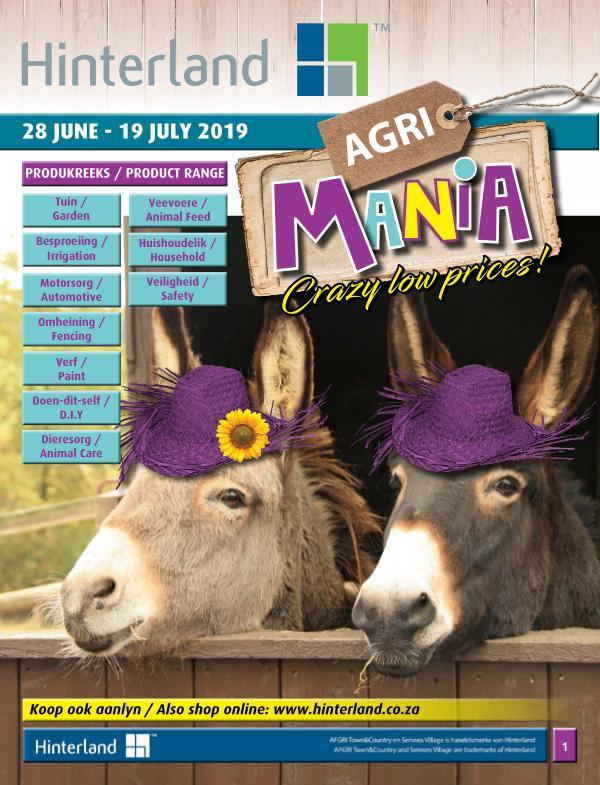 Hinterland Promotions Agri Mania Promotion