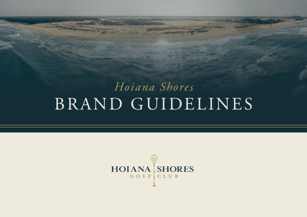 Brands Guideline Samples P54 Hoiana Shores - Brand Guidelines 2018