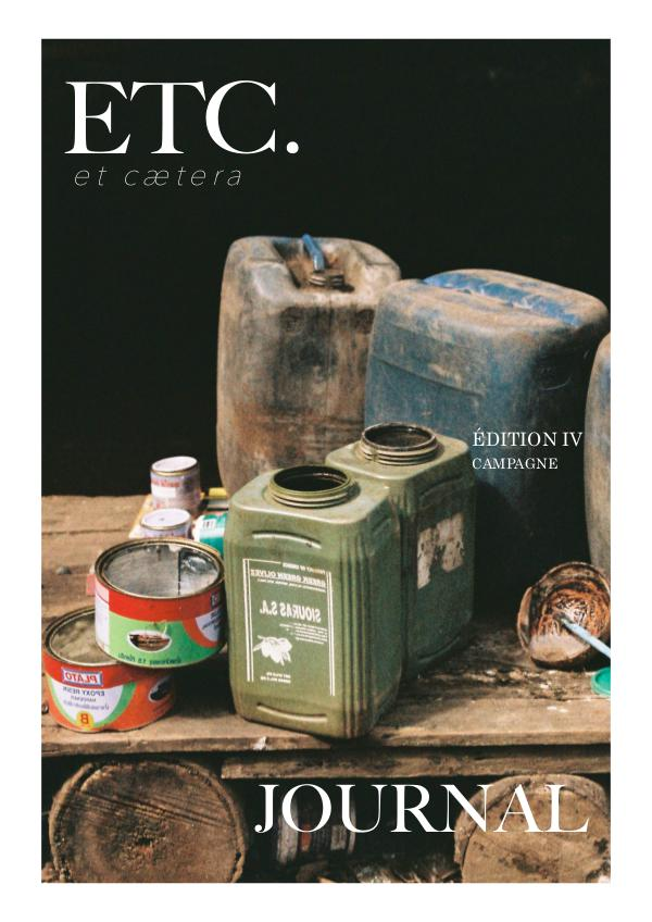 ETC. JOURNAL EDITIONS #4